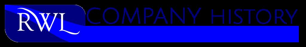 Company History Header