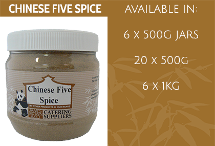 JB Chinese Five Spice Info