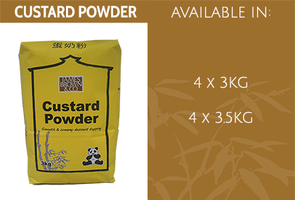 JB Custard Powder Info