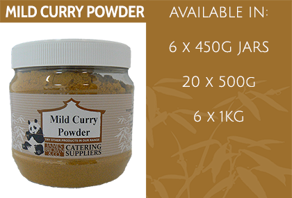 JB Mild Curry Powder Info