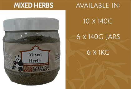 JB Mixed Herbs Info