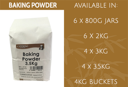JB Baking Powder Info
