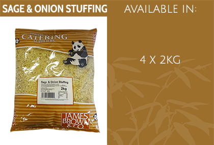 JB Sage and Onion Stuffing Info