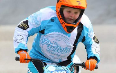 Sponsoring a young BMX rider at the World Championships